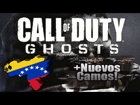El Nuevo COD: Ghosts sera en Venezuela!? + Nuevos Camos para BlackOps 2!