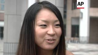 Paralympian in Japan goes nude to raise money