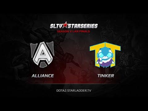 Alliance vs Team Tinker SLTV StarSeries X Finals Game 2