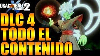 Dragon Ball Xenoverse 2 DLC 4 TODO EL CONTENIDO CONFIRMADO Y POSIBLE