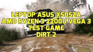 AMD Ryzen 3 2200U Vega 3 - DiRT 2 - ASUS X505ZA