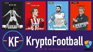 Kryptofootball? New collectible blockchain game on NEM!