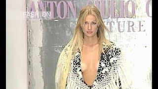 ANTON GIULIO GRANDE Fall 1999 2000 Haute Couture Rome - Fashion Channel