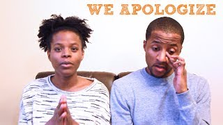 We owe you all an apology