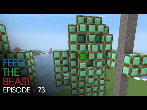 Minecraft Feed The Beast - E73 :: Emerald Wars Finale