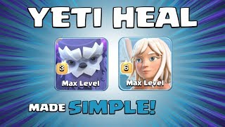 *IMMORTAL YETI* NEW TH13 Attack Strategy - 8 x HEALERS & 6 x YETIS - Clash of Clans