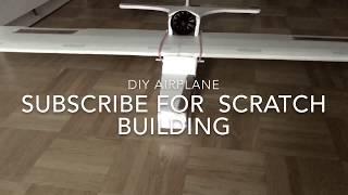 DIY RC airplane. It's An EDF