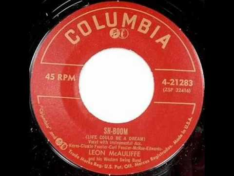 Western Swing Band, Leon McAuliff&His - Sh-Boom (Columbia 2128) 1954