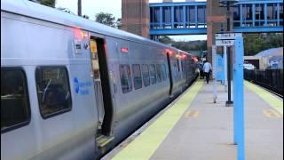 Metro-North Railroad: Train action at Hawthorne, NY [M3, M7A, P32AC-DM]