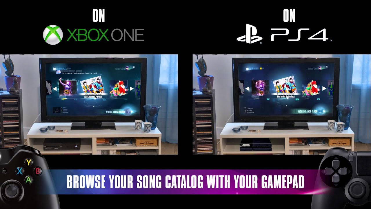 just dance with your smartphone xbox one ps4 uk youtube. Black Bedroom Furniture Sets. Home Design Ideas