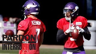 Should Vikings start Case Keenum or Teddy Bridgewater? | Pardon The Interruption | ESPN