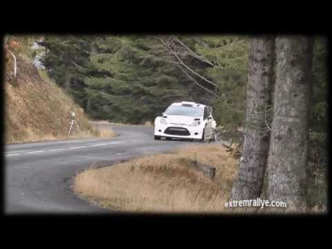 Jari Matti Latvala Fiesta RS WRC Tests Monte-Carlo 2012 [HD]