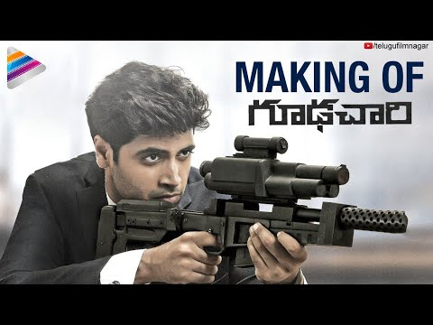 Goodachari Movie Making | Adivi Sesh | Sobhita Dhulipala | 2018 Telugu Movies | Telugu FilmNagar
