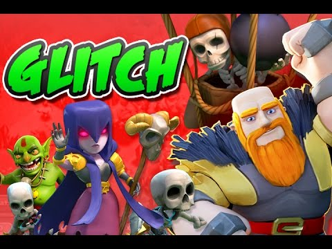 Clash of Clans Glitch Attack Strategy    Max Troops    Glitch Attack