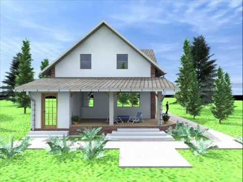Proiect casa giarmata vii ghiroda judetul timis casa for Youtube case cu mansarda