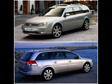 Ford Mondeo Mk3  2.0 TDCi vs Opel Vectra C Lift 1.9 CDTi  Krótkie porównanie