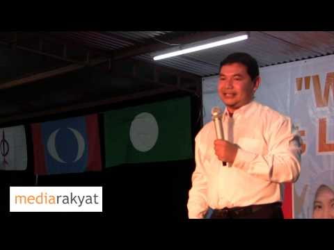Rafizi Ramli: We have No Other Option But To Throw UMNO Barisan Nasional Into The Dustbin