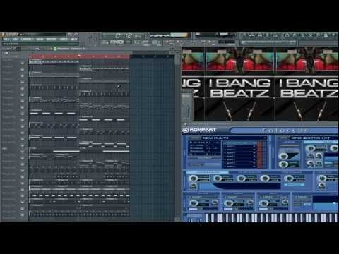 Making A Beat For Juicy j Of The (Three6Mafia)