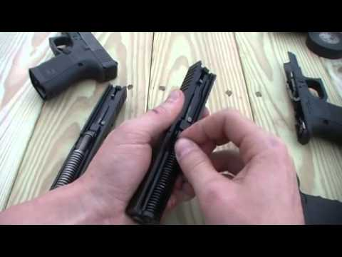 Glock Gen 4 vs. Gen 3 Tabletop Review (19 & 23)