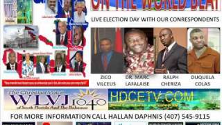 On The World Beat Special Haiti Election Day Part 14