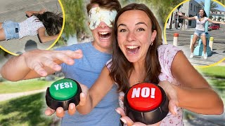 blind YES or NO to public dares!