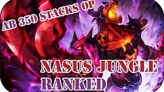 Full Ranked Game Nasus Jungle #110 | League of Legends