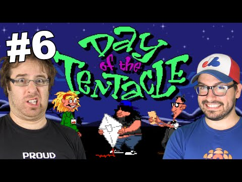 Day of the Tentacle en français sur PC (6 de 8)