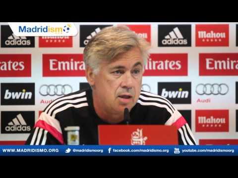 Rueda de prensa de Carlo Ancelotti, previa Elche en Liga