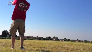 Flexifoil Rage 3.5m in ~10MPH winds