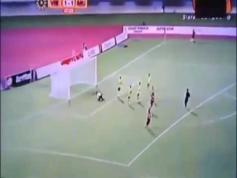 U19 VN vs U21 Brunei Thanh Tùng ghi bàn 2 - 1