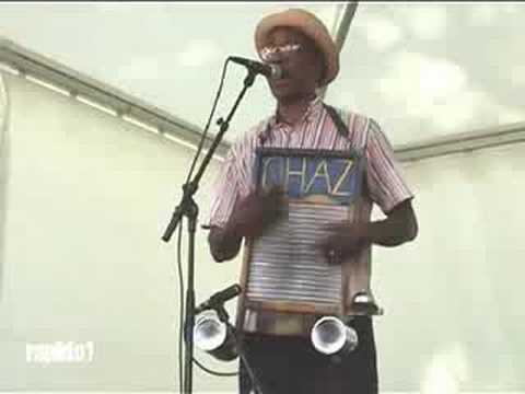 "WASHBOARD CHAZ TRIO ""I am so glad""  blues  Cognac 2008"