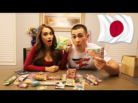 JAPANESE CANDY CHALLENGE!