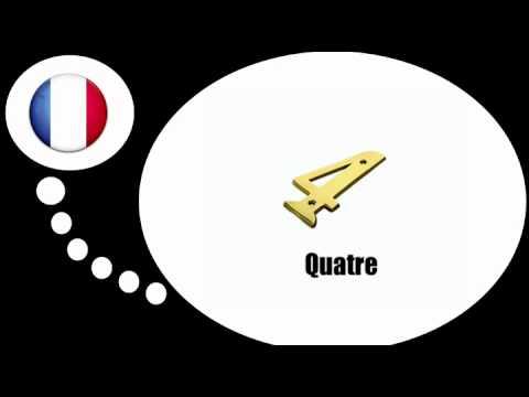 урок французского языка = Цифры № С 1 по 9