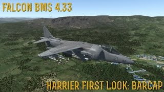 [FALCON BMS 4.33] AV-8B Harrier First Look: BARCAP