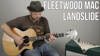 How To Play 34 Landslide 34 By Fleetwood Mac On Guitar Acoustic Fingerstyle Lesson