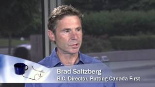 Episode #119, BRAD SALTZBERG, SHAW TV, David Berner, June12, 20114