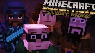 Minecraft Story Mode - The Truth About The Order! - Episode 4 [3]