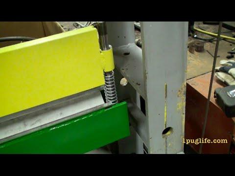 diy 40 ton brake press pt3