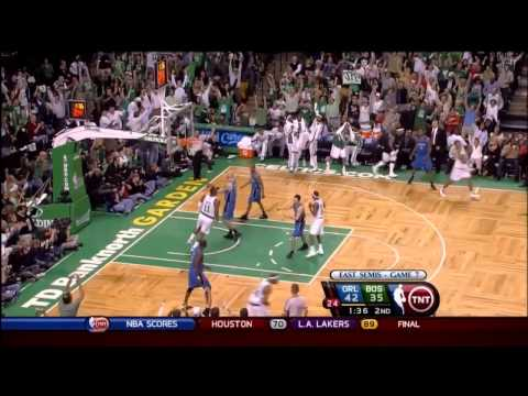 2009 ECSF - Orlando vs Boston - Game 7 Best Plays