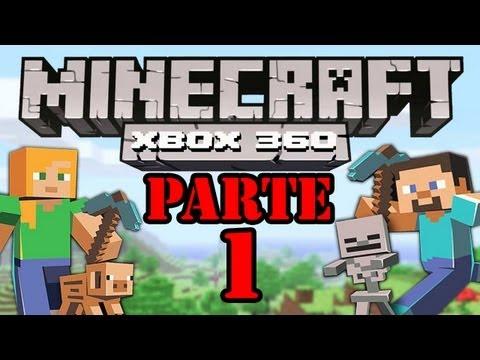 Let's Play : Minecraft Xbox360 - Parte 1