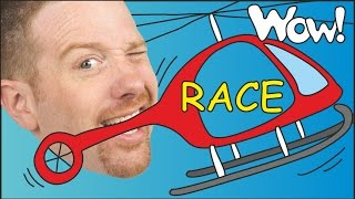 Magic Race for Kids   English Stories for Children   Steve and Maggie   Wow English TV