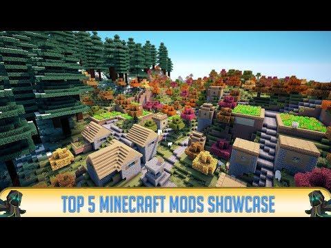 ✔ Minecraft: Top 5 Mods (Minecraft 1.13.2)