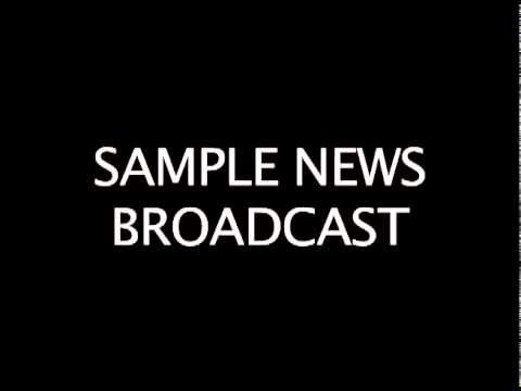 Radio News Sample