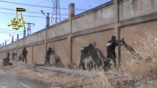 Idlib, heavy clashes between  army & FSA 11 6 2013