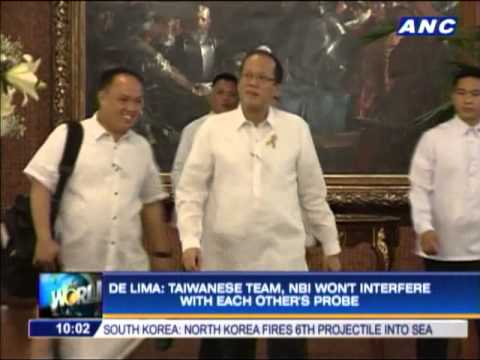 Philippines OKs parallel probe with Taiwan