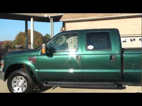 Ford Powerstroke For Sale >> 2008 FORD F350 CREW CAB 4X4 6 4L DIESEL XLT FOR SALE F250 MANUAL SEE WWW SUNSETMILAN COM - YouTube
