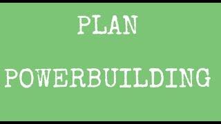 PLAN - POWERBUILDING! średnio-zaawansowani!