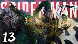 ALL VILLIANS FREE : Marvels Spider-Man PS4 Part 13
