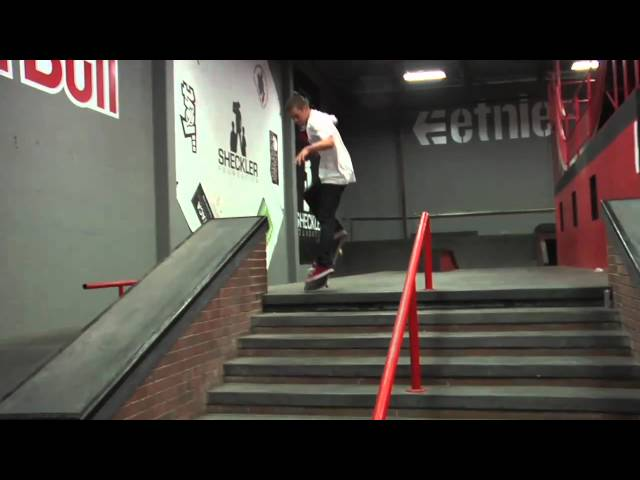 Plan B - Ryan Sheckler and Chris Cole: Street League Warm up