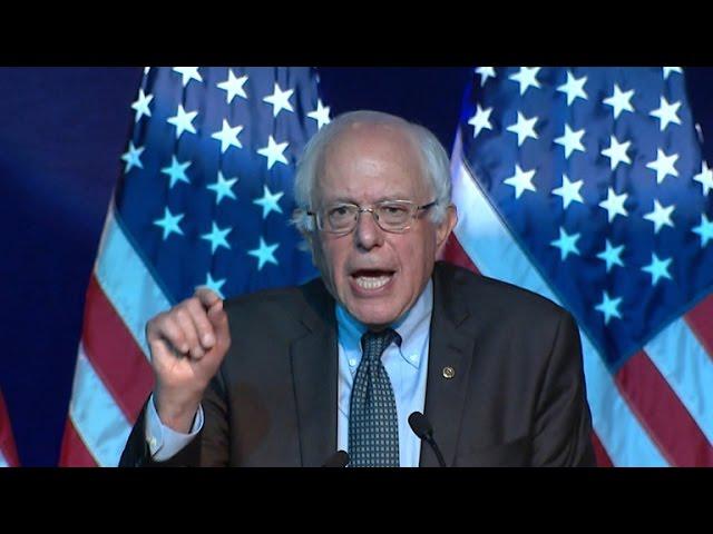 Clinton and Sanders pitch DNC as Biden bid looms